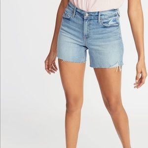 Old navy sweet heart light jean shorts 4